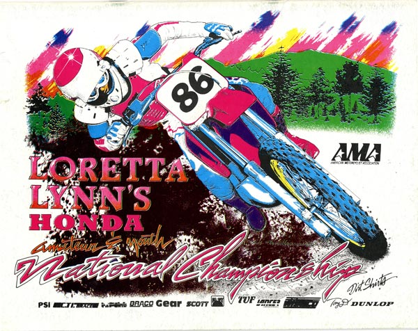 The 1986 Loretta Lynn's Program